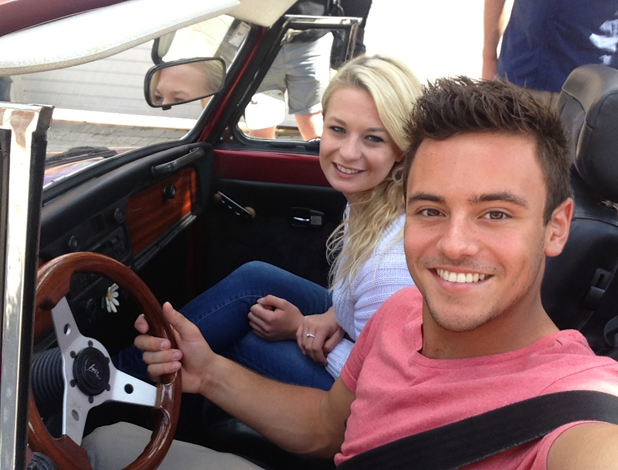 Tom Daley Goes Global, episode airing 8 May 2014: Tom and Sophie in Spain