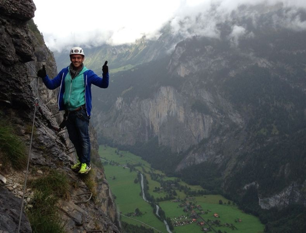Tom Daley Goes Global, episode airing 8 May 2014: Tom in Switzerland