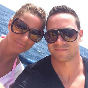 Katie Price and Kieran Hayler on holiday in Cape Verde, April 2014