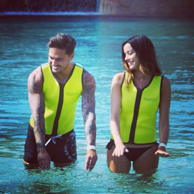 Mario Falcone and Sophie Lily in Dubai, May 2014