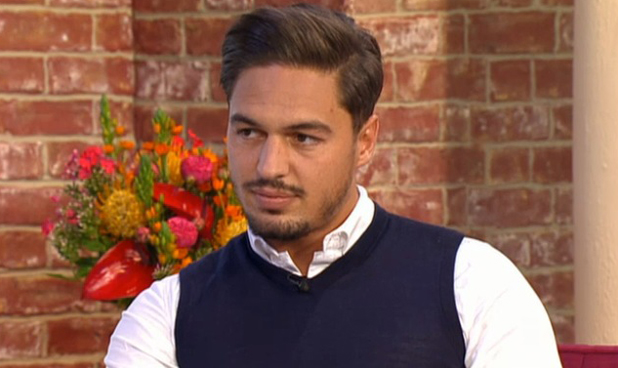 Mario Falcone appearing on ITV's This Morning, 8 May 2014