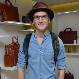 Oliver Proudlock at the Piquadro launch party on Regent Street 29 April 2014. London, United Kingdo