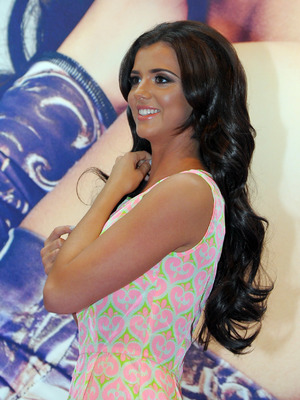 Lucy Mecklenburgh attends Beauty 2014 held at the NEC Birmingham, 18 May 2014
