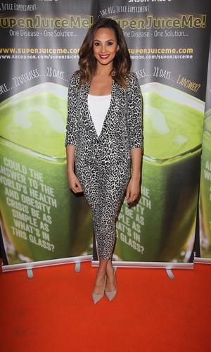 Alesha Dixon - Super Juice Film Premiere - 26 April 2014