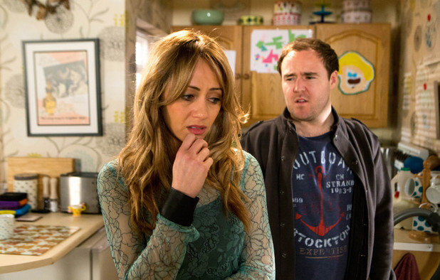 Corrie, Tyrone finds out, Mon 19 May