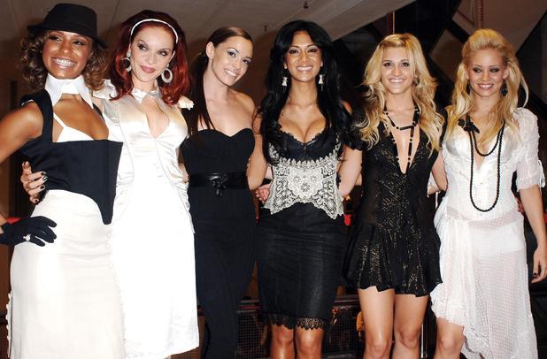 The Pussycat Dolls arriving for the Harrods Summer Sale - Melody Thornton, Carmit Bachar, Jessica Sutta, Nicole Scherzinger, Ashley Roberts, Kimberly Wyatt London, England 3 July 2006.