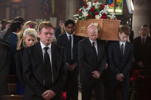 EastEnders, Lucy's funeral, Tue 20 May