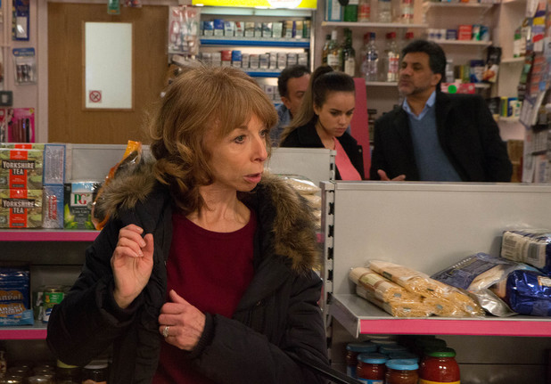 Corrie, Gail and Katy want a job, Wed 14 May