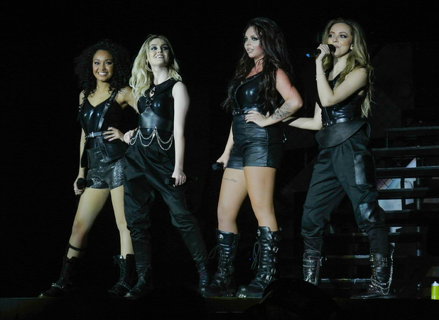 Little Mix kick off UK tour at LG Arena in Birmingham, 16 May 2014