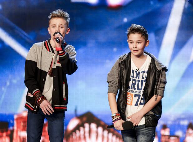 Britain's Got Talent - Bars and Melody, aka BAM. (10 May 2014).