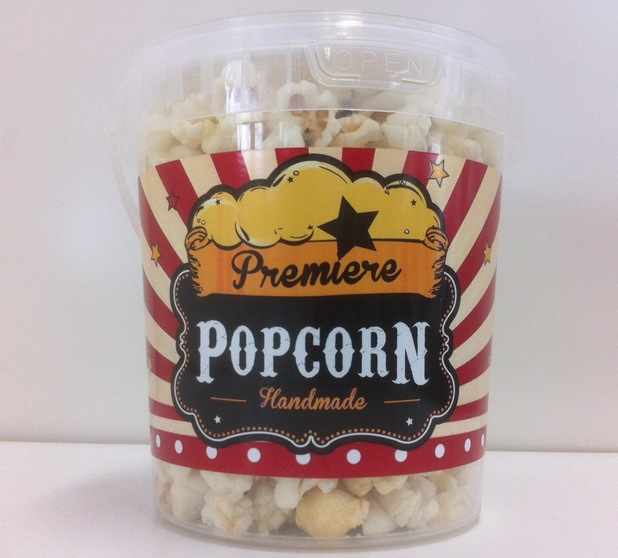 Fish and chips popcorn