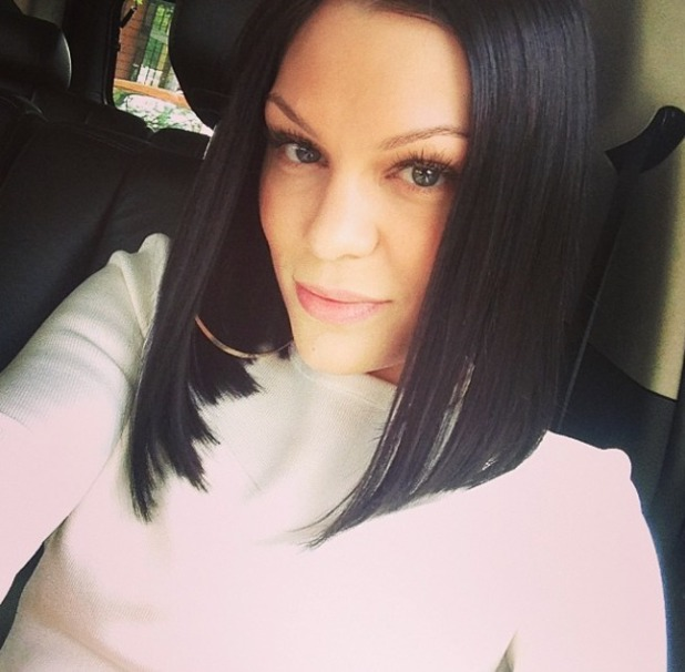 Jessie J gets her favourite hairstyle back, 13 May 2014