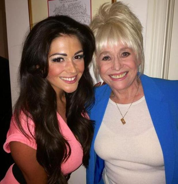Casey Batchelor meets Barbara Windsor at Jim Davidson's wife's birthday party - 13 May 2014