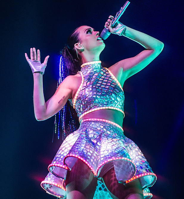 Katy Perry on her Prismatic World Tour - LG Arena, Birmingham 13 May