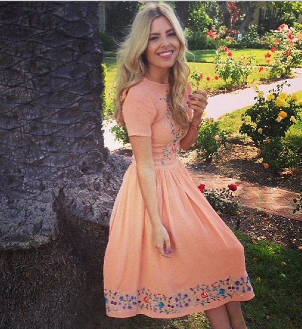 Mollie King shares photo from ASOS shoot in LA 13.05.14