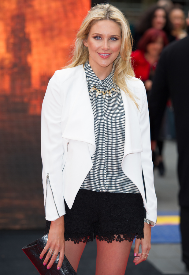 Stephanie Pratt at the European premiere of 'Godzilla' held at the Odeon Leicester Square 11th May