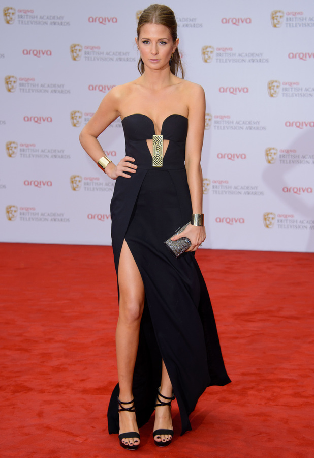 Millie Mackintosh attends the Arqiva British Academy Television Awards (BAFTAs) 2013 in London, England - 12 May 2013