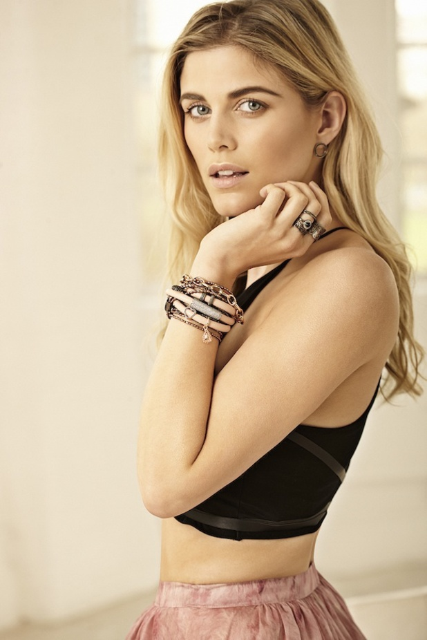 Ashley James models the new STORY by Kranz & Ziegler spring/summer '14 jewellery line - May 2014
