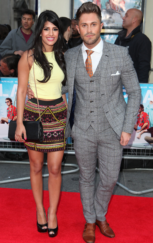 Jasmin Walia and Ross Worswick at 'Plastics' premiere