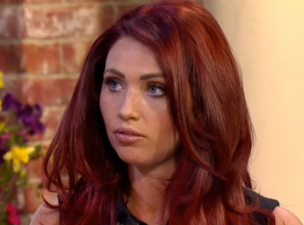 Amy Childs talking about her surgery regrets on ITV's This Morning, 13 May 2014