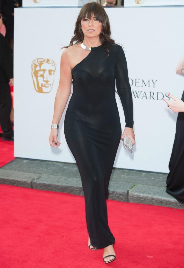 Davina McCall, Arqiva British Academy Television Awards held at the Theatre Royal, Drury Lane - Arrivals, 18 May 2014