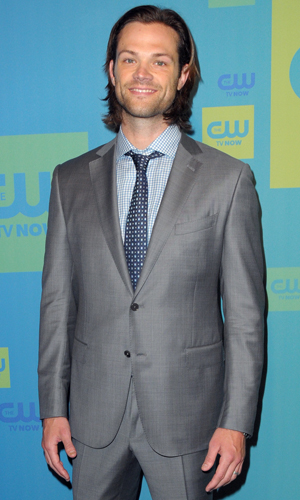 Jared Padalecki at The CW Upfronts 2014 at The London Hotel by The New York City Center, 15 May 2014