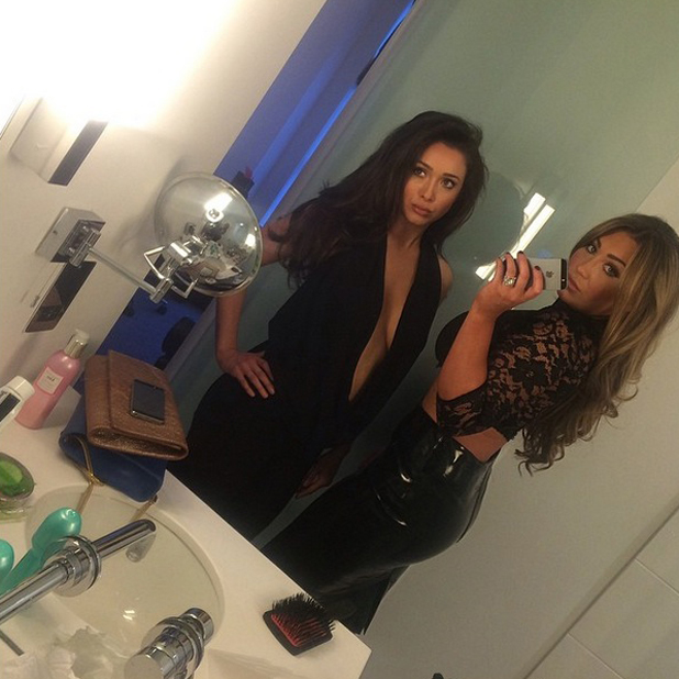 Lauren Goodger poses up a storm on night out, 14 May 2014