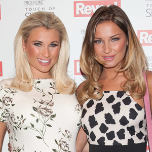 Sam and Billie Faiers at Reveal Online Fashion Awards held at DSTRKT, London, 20 May 2014