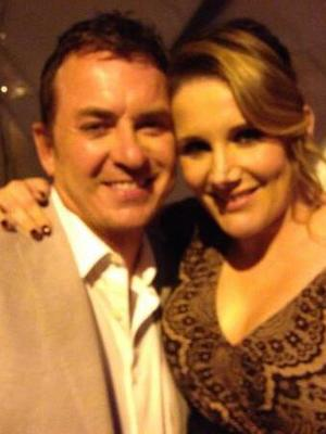 Sam Bailey posts picture with Shane Richie at British Soap Awards, 24 May 2014