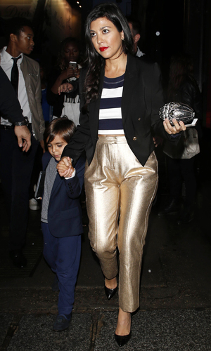 Kim Kardashian heads out with her family in Paris, France - 21 May 2014