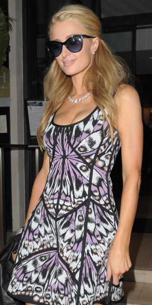 Paris Hilton leaves Cosy Box nightclub in Cannes, France - 18 May 2014