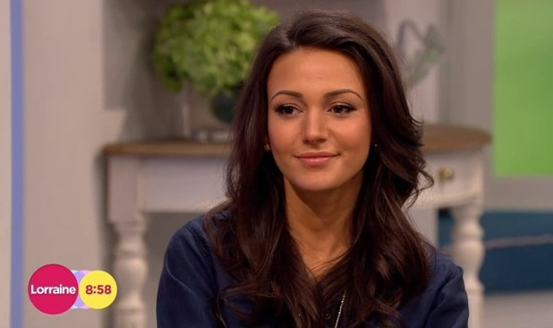 Michelle Keegan appears on Lorraine to discuss High Street Fashion Awards - 22 May 2014