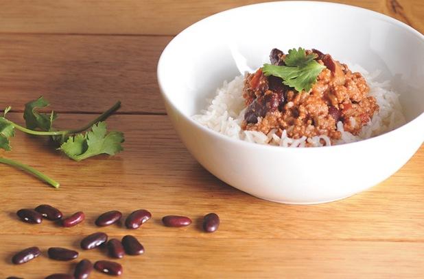 Healthy chilli con carne