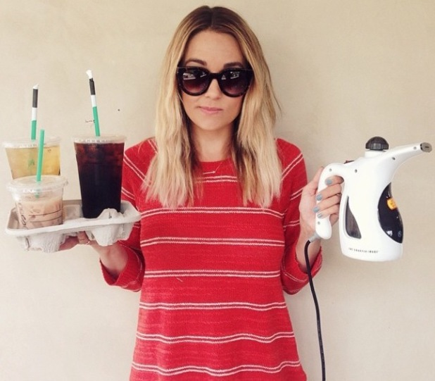 Lauren Conrad returns to interning duties while on a photo shoot for The Little Market - 23 May 2014