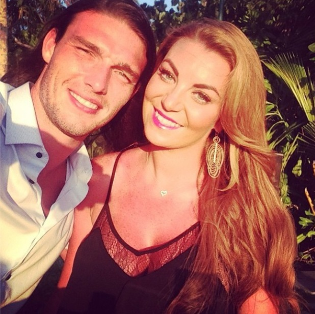 TOWIE's Billi Mucklow and footballer Andy Carroll visit the Maldives for five nights after their Dubai holiday - 19 May 2014