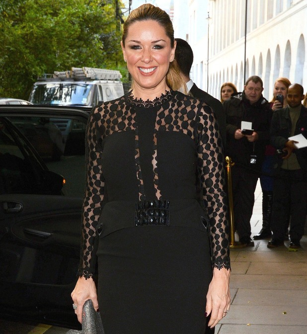 Claire Sweeney attends Children In Need Gala Lunch at the Savoy Hotel London - 27 October 2014