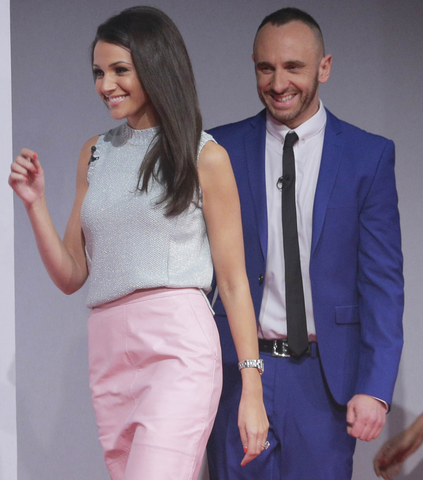 Lorraine's High Street Fashion Awards, TV Programme, London, Britain. - 21 May 2014 Judges Michelle Keegan, and Mark Heyes