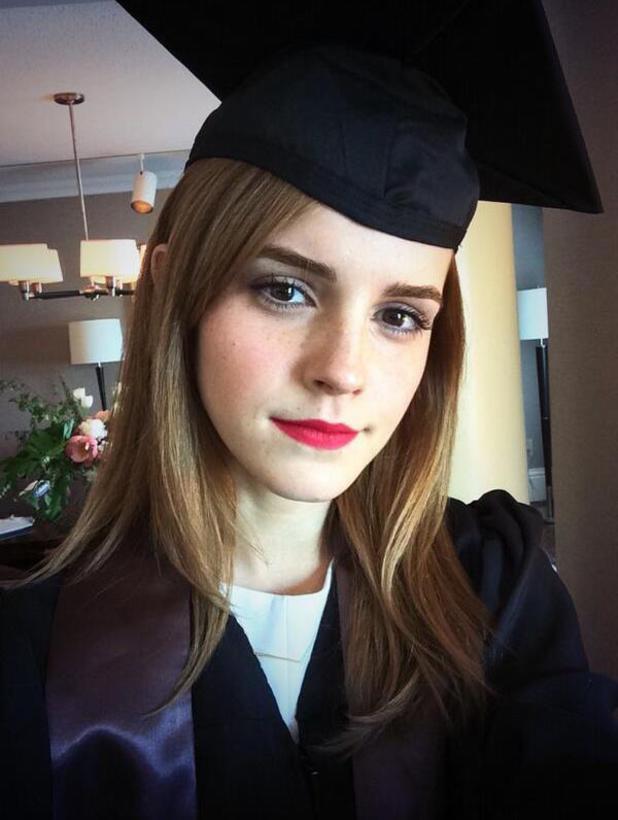 Emma Watson graduates! May 25 2014