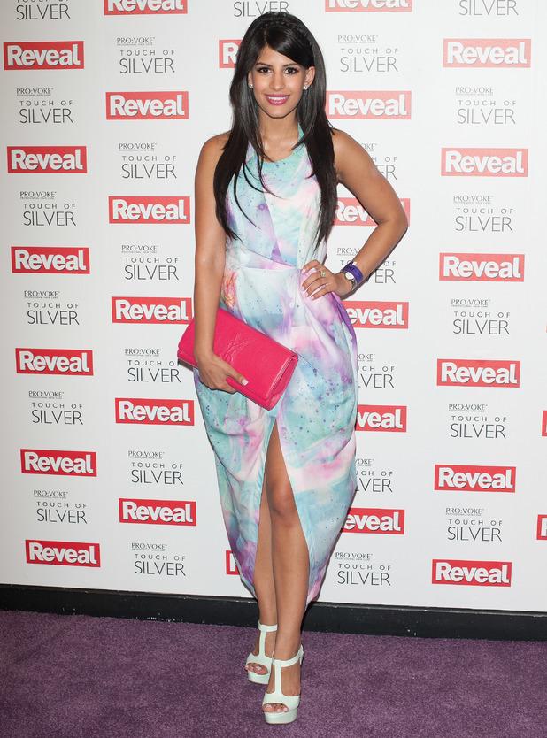 Jasmin Walia, Reveal Online Fashion Awards held at DSTRKT - inside arrivals, 20 May 2014