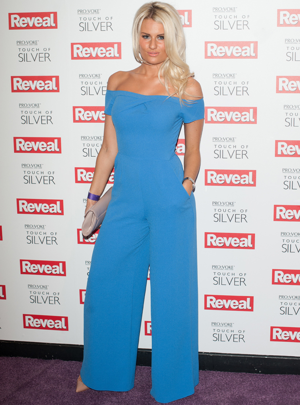 Danielle Armstrong, Reveal Online Fashion Awards held at DSTRKT, London, 20 May 2014