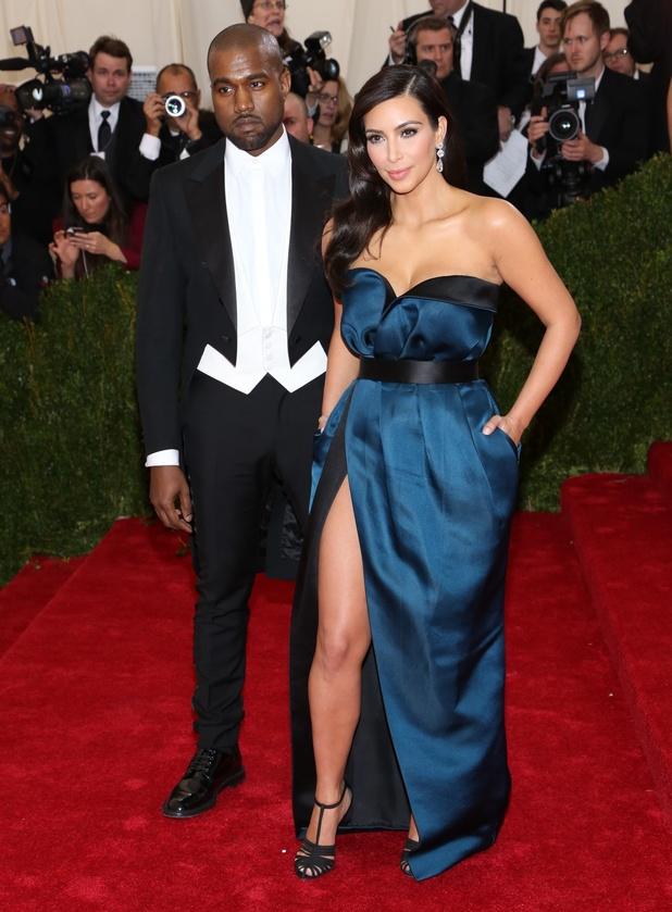Beyond Fashion Costume Institute Gala at the Metropolitan Museum of Art - Kim Kardashian and Kanye West. 6 May 2014.