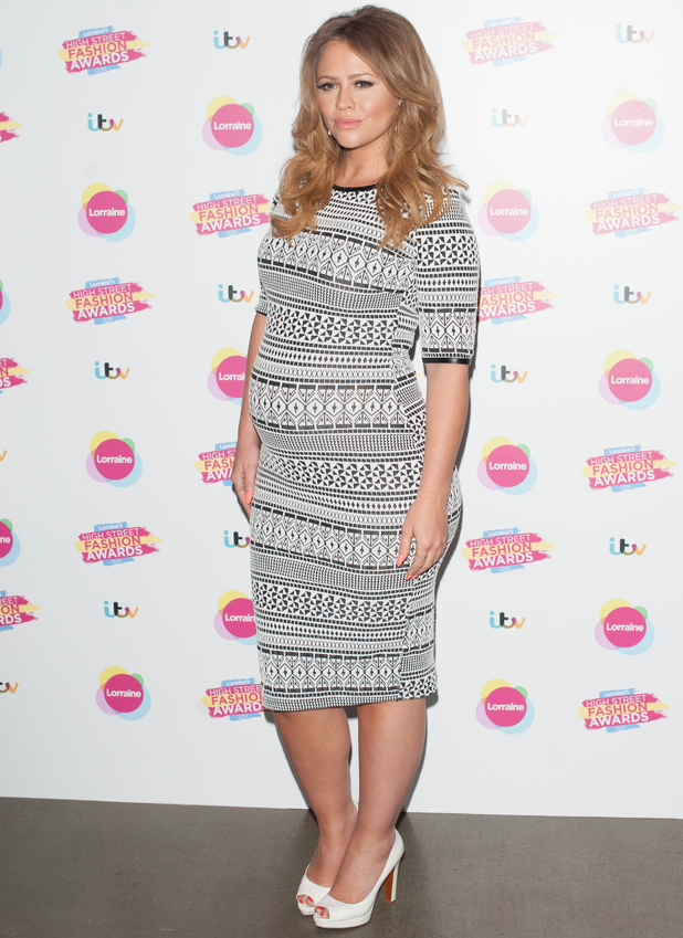 Kimberley Walsh at Lorraine's High Street Fashion Awards, TV Programme, London, Britain. - 21 May 2014