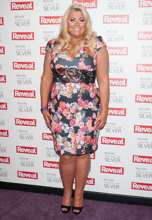 TOWIE's Gemma Collins steps out at the Reveal Online Fashion Awards at DSTRKT in London, England - 20 May 2014