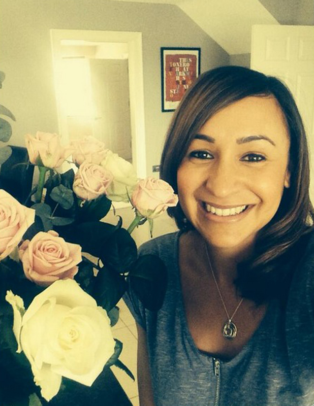 Jessica Ennis-Hill celebrates first anniversary with husband Andy Hill, 19 May 2014