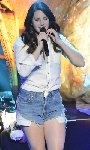 Lana Del Rey performs at Sony Centre for the Performing Arts, Canada, 20 May 2014
