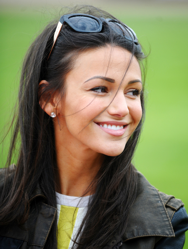 Michelle Keegan attends Truckfest 2014 in Peterborough, England - 5 May 2014
