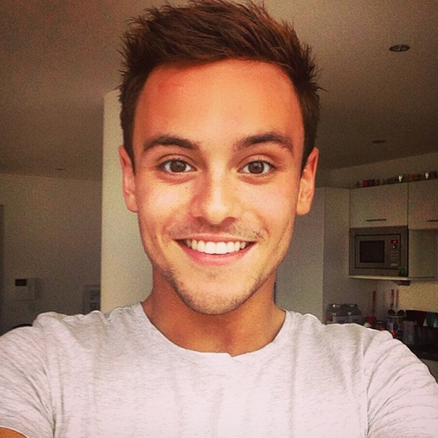 Tom Daley shares the last selfie of himself as a teenager, 20 May 2014