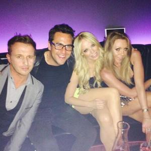 Michelle Heaton enjoys night out with Big Reunion pals, 30 May 2014