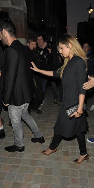 Cheryl Cole and rumoured boyfriend Jean-Bernard Fernandez-Versini at the Chiltern Firehouse, London - 30 May 2014