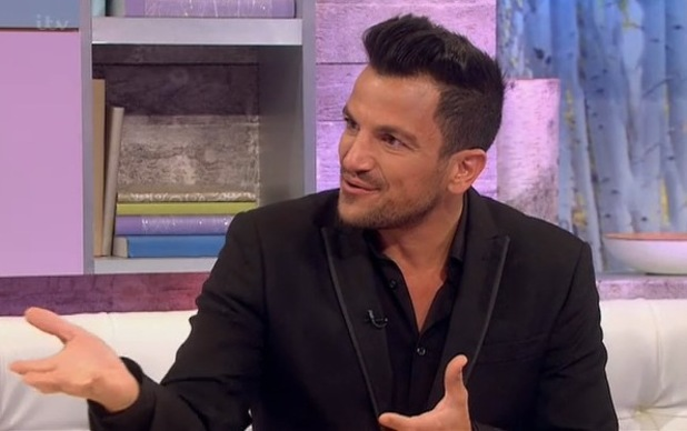 Peter Andre appears on Loose Women - 27 May 2014
